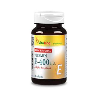 E-vitamin 400NE természetes – Vitaking
