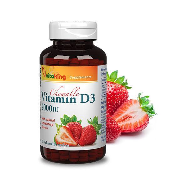 Epres D3-vitamin 2000NE (210 rágótabletta)
