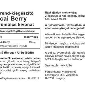 Acai Berry – Vitaking