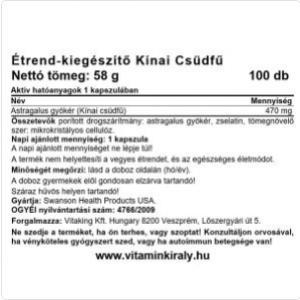 Astragalus 470mg (100 kapszula) - Swanson