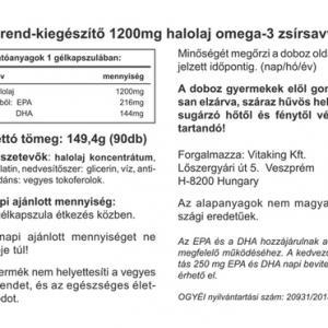Halolaj – Omega-3 – Vitaking