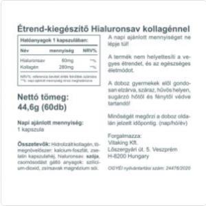 Hialuronsav&Kollag;én komplex (60) - Vitaking