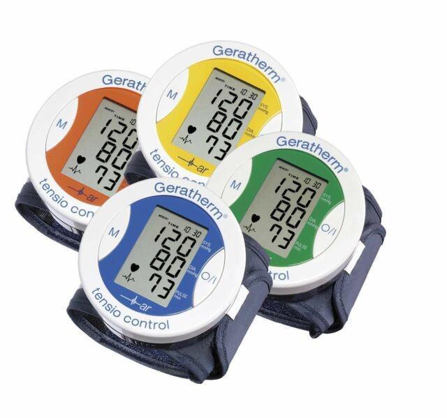Geratherm Tensio control csuklós vérnyomásmérő - több színben