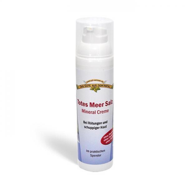 Holt-tengeri só ásványi krém 75 ml-es adagoló pumpás