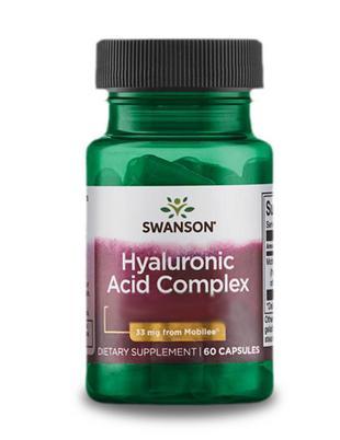 Hyaluronsav komplex 33mg (60) – Swanson