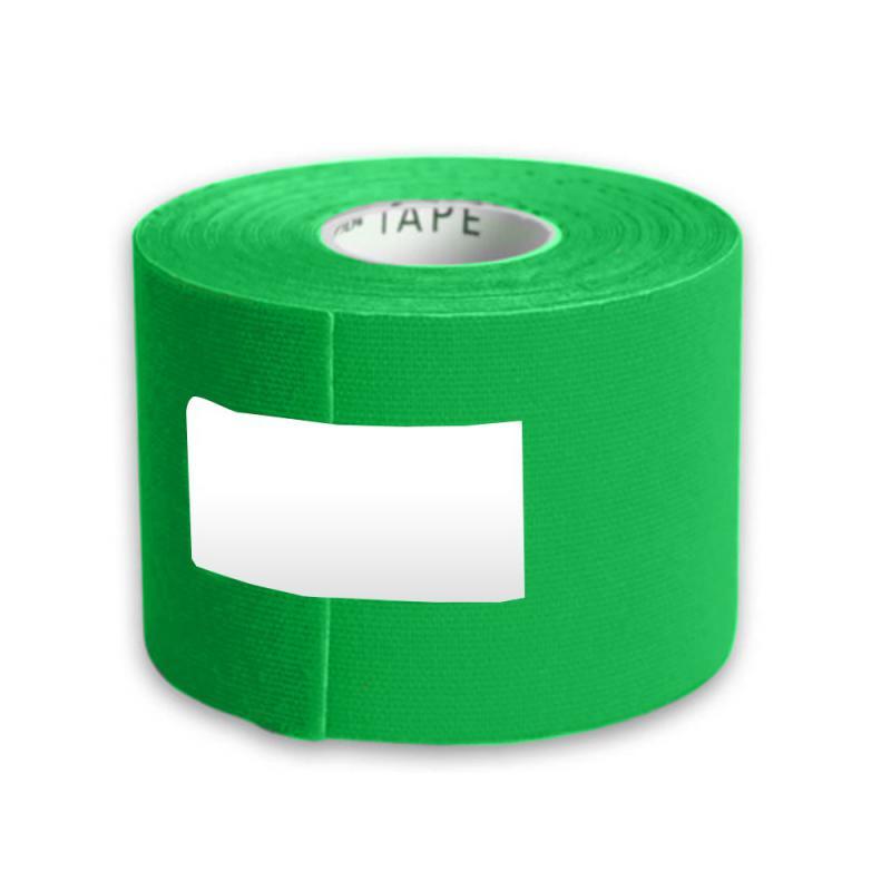 Kinesio tape (szalag) zöld 5cmx5m