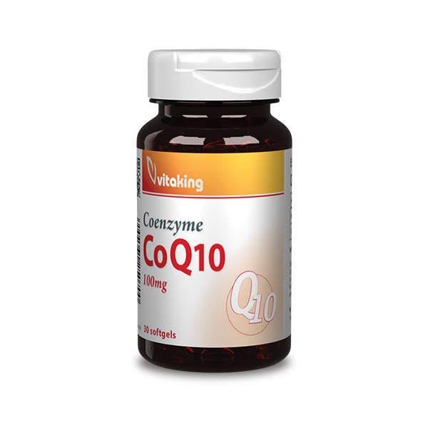 Koenzim Q-10 100mg (30 kapszula)-Vitaking