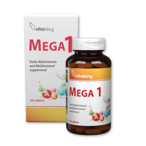 Mega1 multivitamin – Vitaking (30 tabletta)