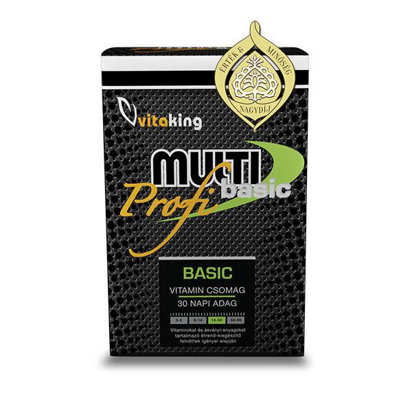 Multi Basic Profi vitamincsomag -Vitaking (30)