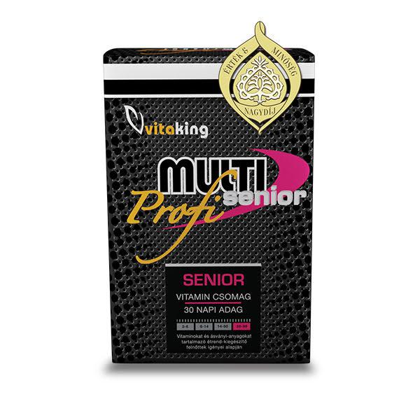 Multi Senior Profi vitamincsomag-Vitaking