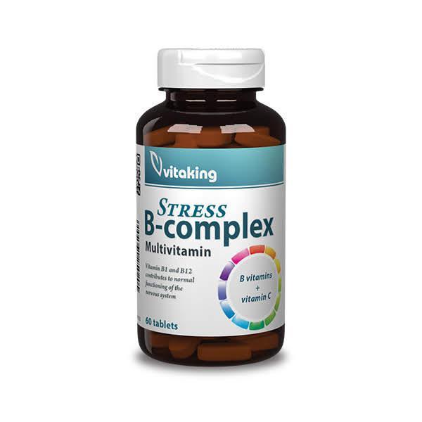 Stressz B-komplex (60 tabletta) - Vitaking