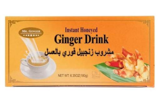 Sun Moon Instant mézes gyömbér tea – 20 filter