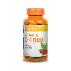 C-1000mg (100) 25mg csipkebogyóval - Vitaking