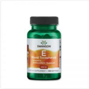 E-Vitamin 400NE mix (100 kapszula) - Swanson