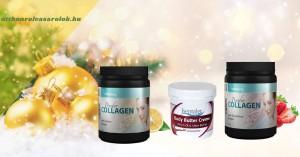 Karácsonyi szépség csomag - regeneráló krémmel