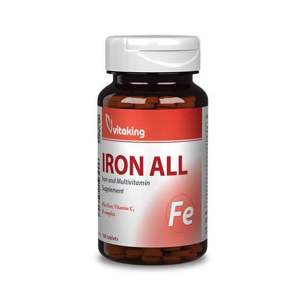 Vas komplex (100 tabletta)-Vitaking