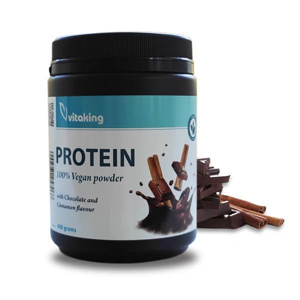Vitaking Vegan Protein 400g (csoki-fahéj)