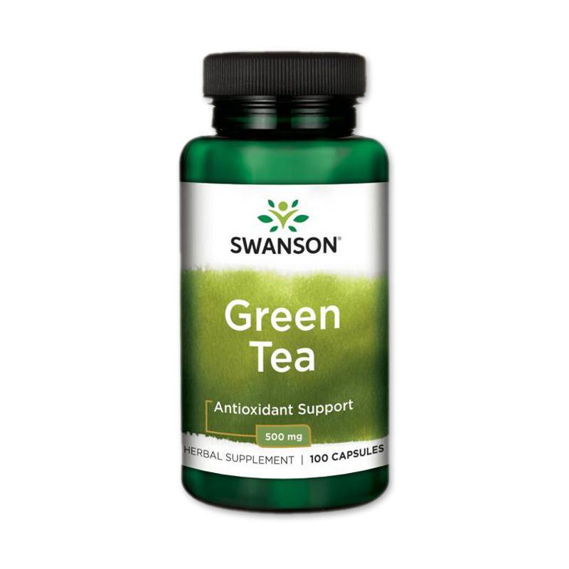 Zöld tea kivonat 500mg (100 kapszula) - Swanson