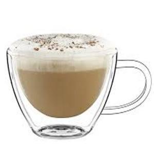 Cappuccino, latte csésze