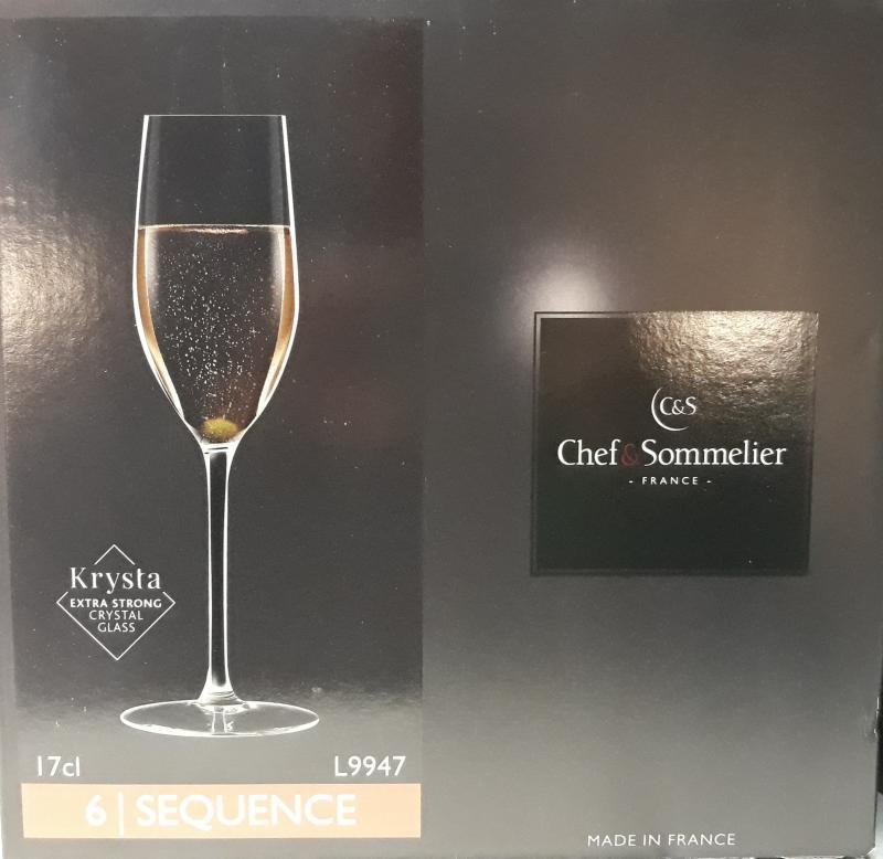 ARCoroc Chef&Sommelier; Sequence pezsgős pohár, 17 cl, 6 db,