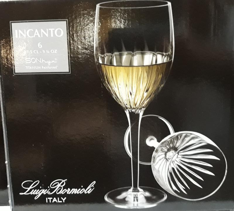 Bormioli INCANTO fehérboros pohár, 27,5 cl, 6 db, 198220