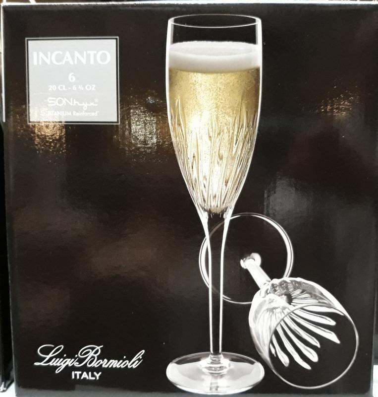 Bormioli INCANTO pezsgős pohár, 20 cl, 6 db, 198218