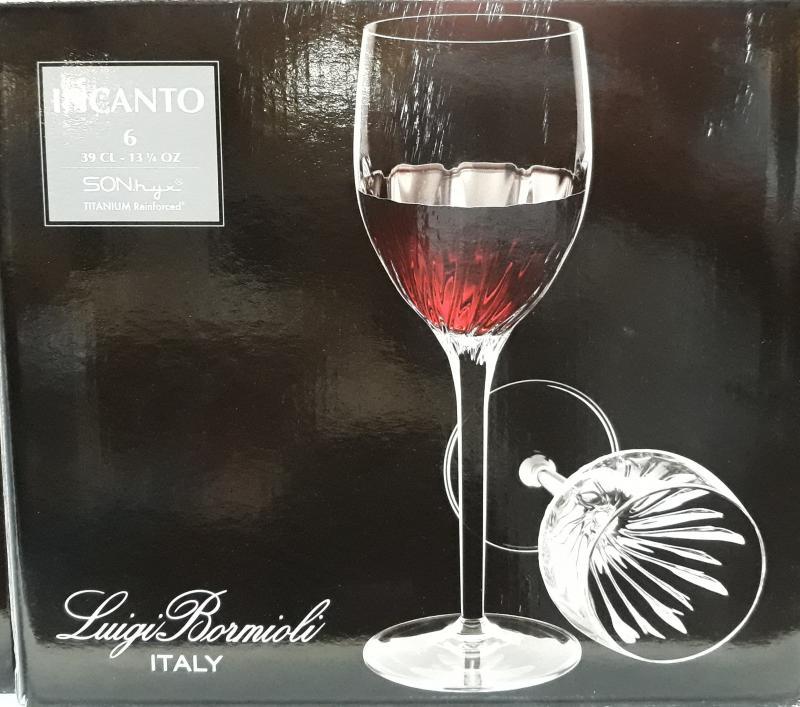 Bormioli INCANTO vörösboros pohár, 39 cl, 6 db, 198216