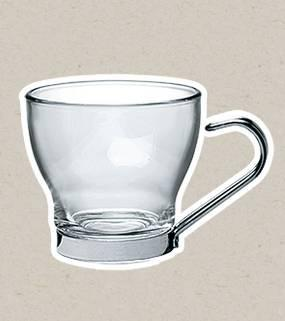 Bormioli Rocco OSLO mokkás csésze, 10 cl, 3 db, 119196