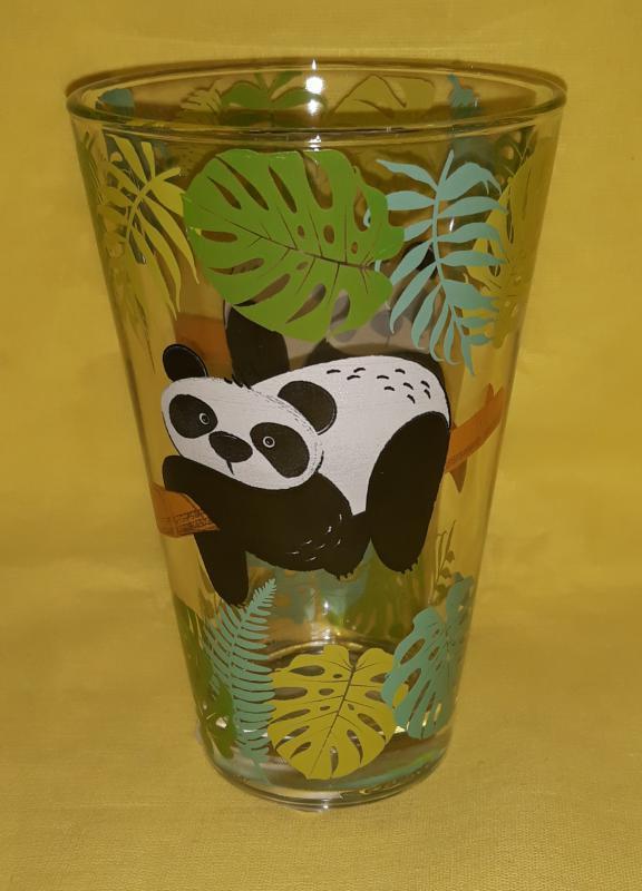 Cerve Nadia Bamboo Panda üdítős pohár, 31 cl, 165316