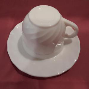 Luminarc Opal Kávés csésze, 16 cl, 6 db +alátét, kisközepes, 500013