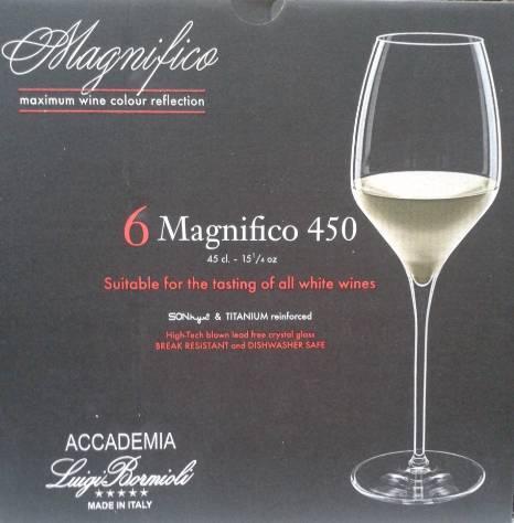 Luigi Bormioli Magnifico 450 fehérboros pohár, 45 cl, 6 db, 198159
