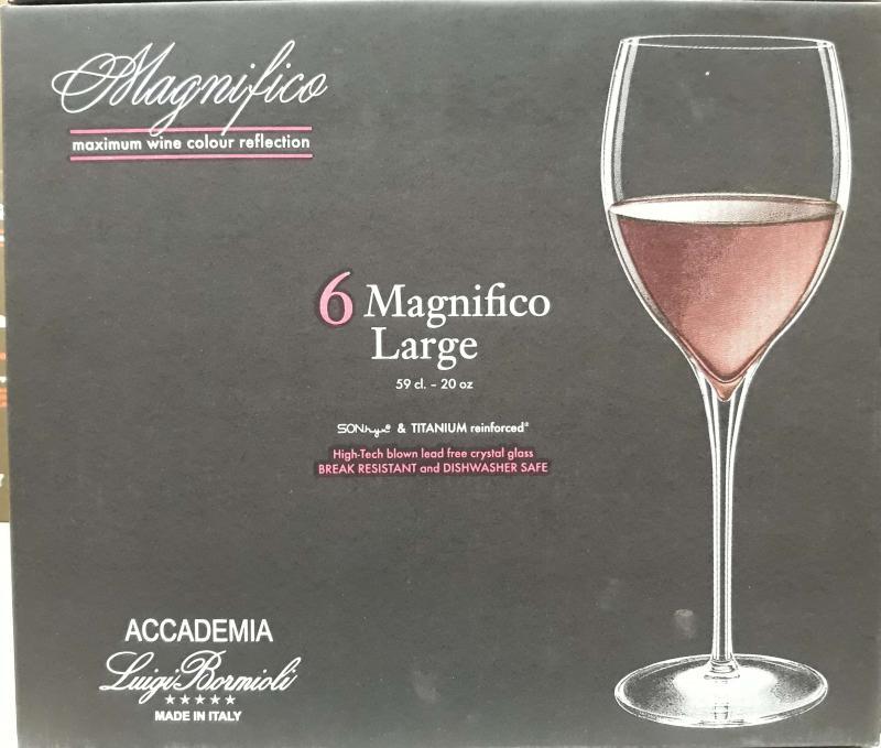 Luigi Bormioli Magnifico Large boros pohár, 59 cl, 6 db, 198102