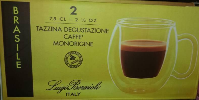 LUIGI BORMIOLI THERMIC GLASS Brasile espresso csésze, 7,5 cl, 2 db, 198183