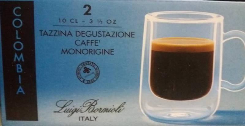 LUIGI BORMIOLI THERMIC GLASS Colombia espresso csésze, 10 cl, 2 db, 198188