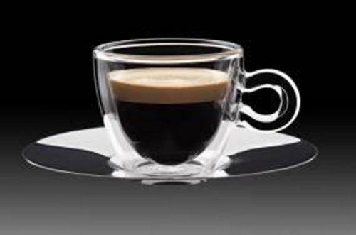 Luigi Bormioli Thermic Glass Espresso csésze, 6,5 cl, 2 db, 198151