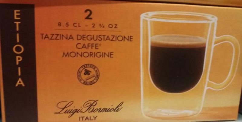 LUIGI BORMIOLI THERMIC GLASS Etiopia espresso csésze, 8,5 cl, 2 db, 198184