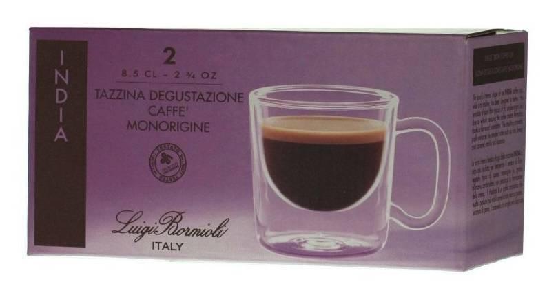 LUIGI BORMIOLI THERMIC GLASS INDIA espresso csésze, 8,5 cl, 2 db, 198185