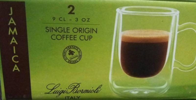 LUIGI BORMIOLI THERMIC GLASS Jamaica espresso csésze, 9 cl, 2 db, 198187