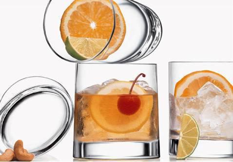 Luigi Bormioli Veronese ovális whiskys pohár, 34,5 cl, 6 db, 198137