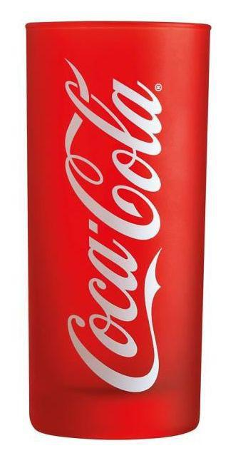 Luminarc COCA COLA piros üdítős pohár, FROZEN 27 cl, 500908