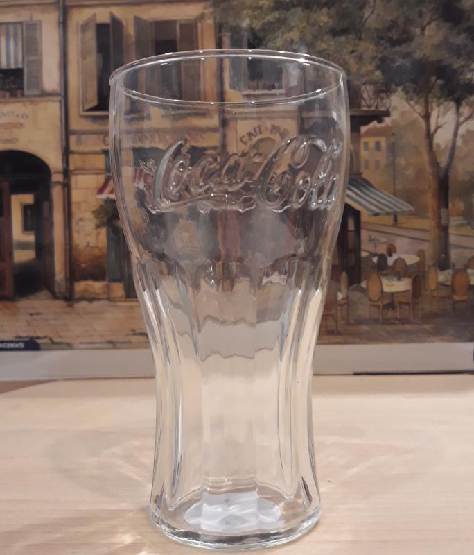 Luminarc COCA COLA üdítős pohár, átlátszó, 37 cl, (közepes) 3 db 500893