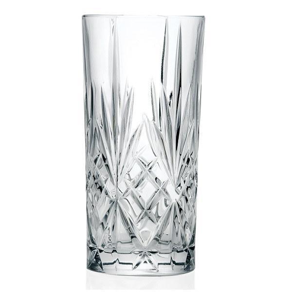 RCR Cristalleria Italiana Melodia üdítős pohár készlet, 36 cl, 6 db
