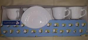 Luminarc Opál mokkás készlet, 9 cl, 6 db, kicsi, 500012