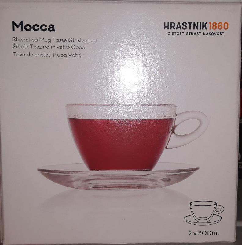 Vitrum Hrastnik Mocca 2 db csésze+2 db alj, 2X300 ml, (nagy) 423037