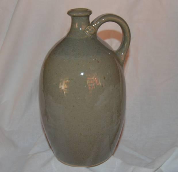 1 l-es öblös palack, cement színű