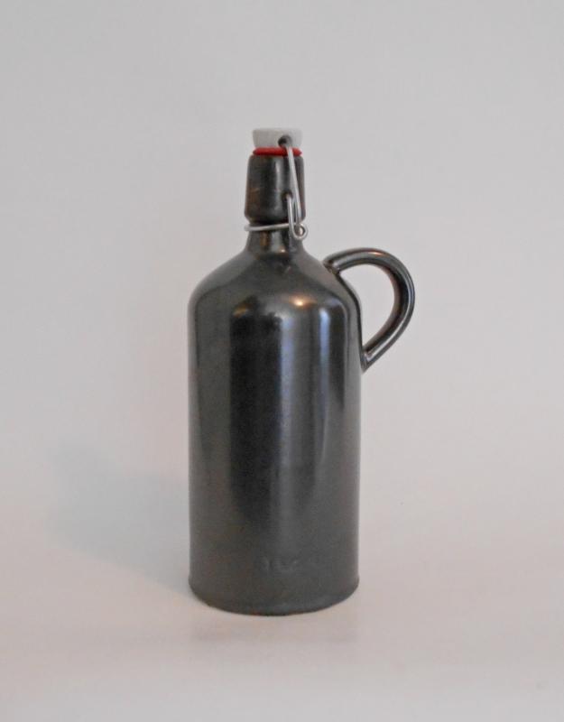 1 l-es palack, cement színű