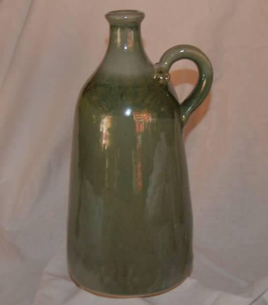 1,2 l-es széles talpú palack, cement színű