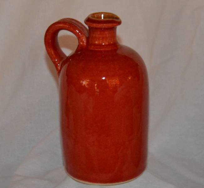 2 dl-es egyenes palack, piros