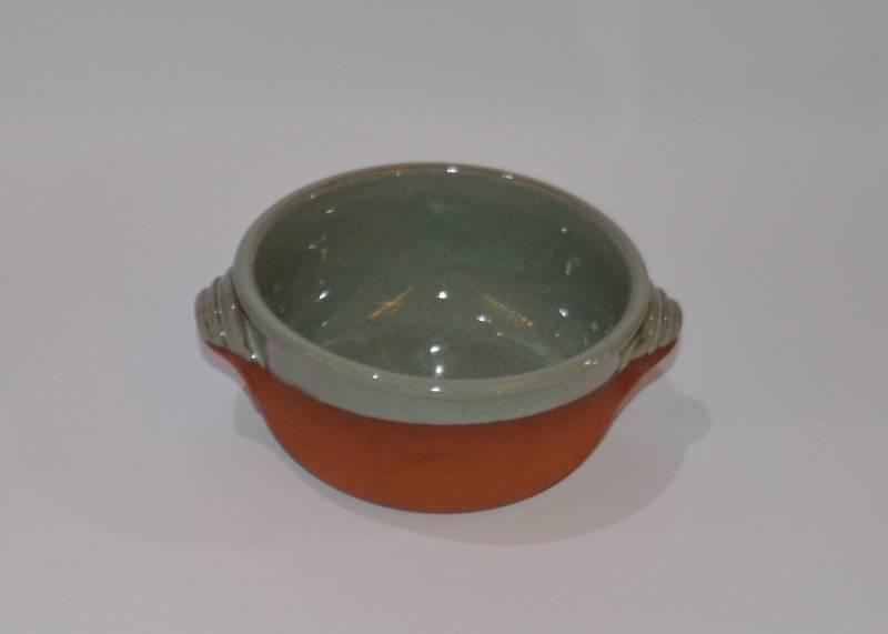 Csűr-rusztikus kis tál, tűrkiz színű