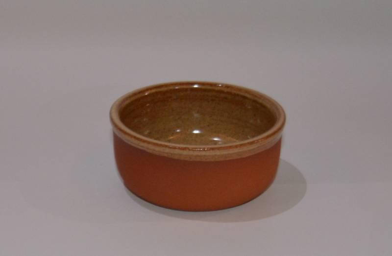 Csűr-rusztikus tálka, homok színű